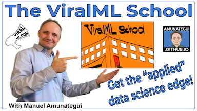 Check out the ViralML School Today